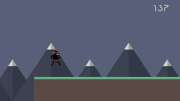 Ninja Runner 2D screenshot 2