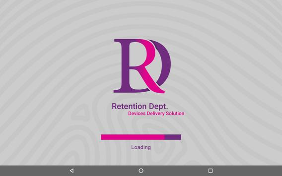 Retention Department RD poster