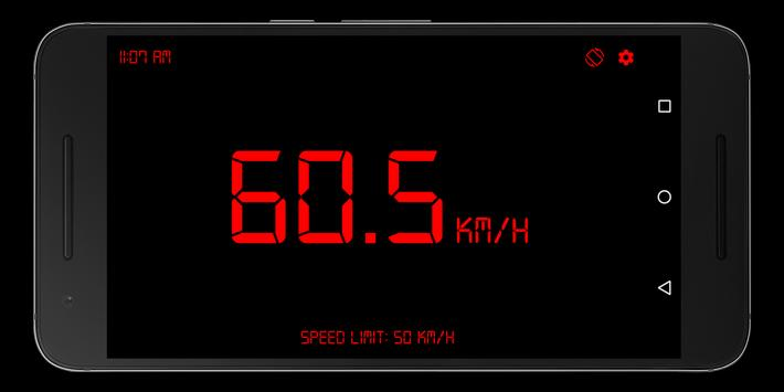 GPS Speedometer, Distance Meter screenshot 3