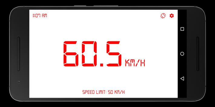 GPS Speedometer, Distance Meter screenshot 2