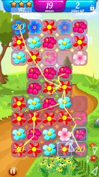 Candy Blossom Crush Frenzy screenshot 5
