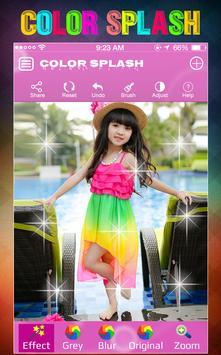 Color Splash Effect poster