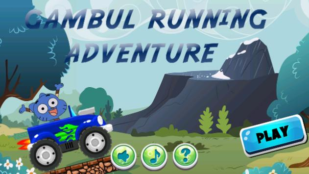 Gombal Cate Running Adventure poster