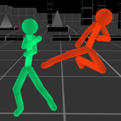 Stickman Fighting: Neon Warriors icon