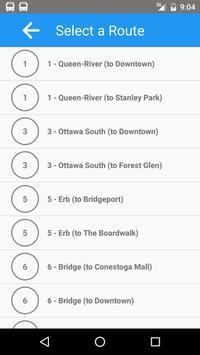 BusStop - Kitchener/Waterloo screenshot 1