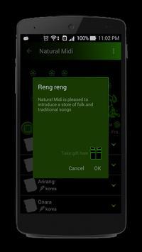 Natural Midi apk screenshot