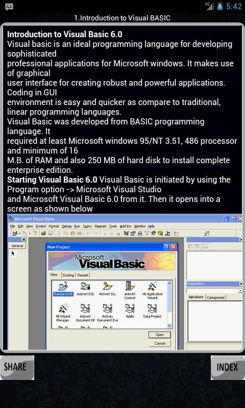 Learning Visual Basic 6 0 for Android - APK Download