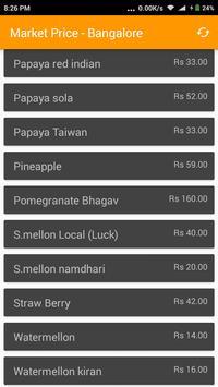 Market Price - Bangalore screenshot 1