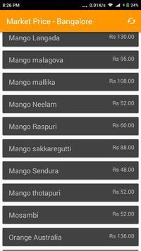 Market Price - Bangalore screenshot 2