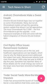 Tech News apk screenshot