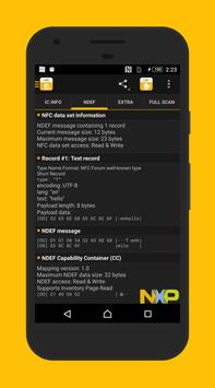NFC TagInfo by NXP screenshot 4