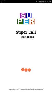 Super Call Recorder screenshot 1