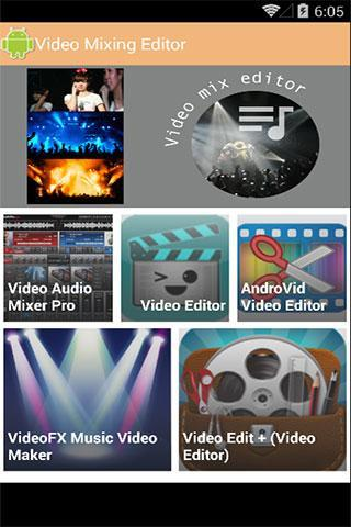 Video Mixing & Editor for Android - APK Download