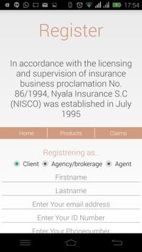 Nyala Insurance S.C screenshot 1
