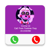 Call From Funtime Foxy Prank,Fake Call Simulator for Android - APK