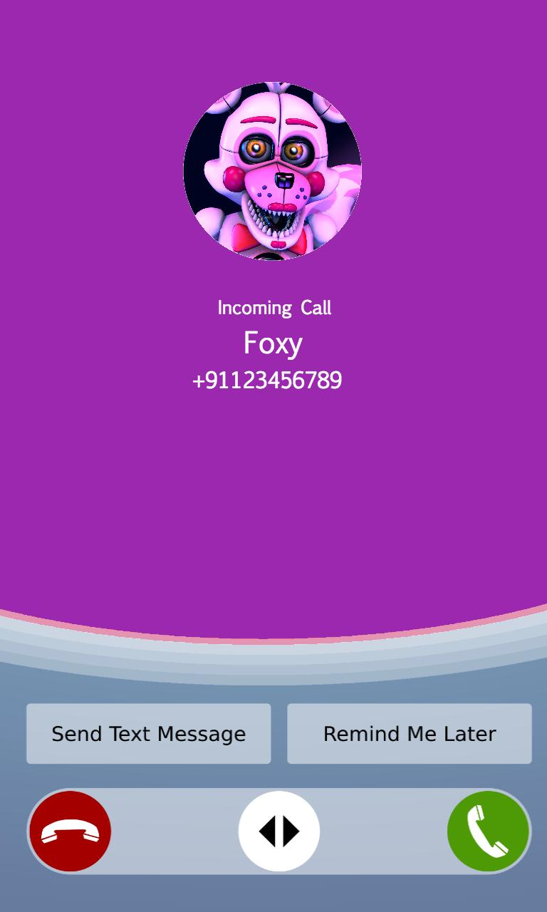 Call From Funtime Foxy Prank,Fake Call Simulator for Android