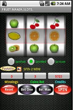 Fruit Mania Slots apk screenshot