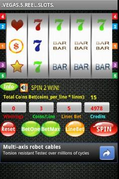 Vegas 5 Reel Slots screenshot 1