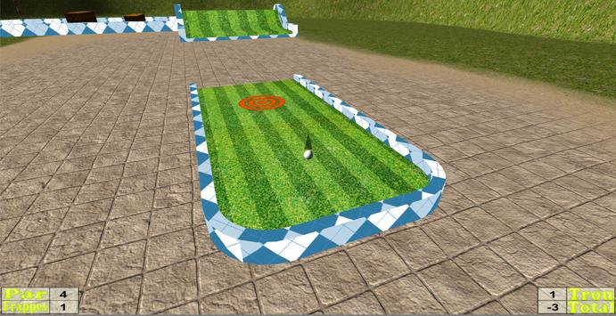 Concours Golf 3D poster