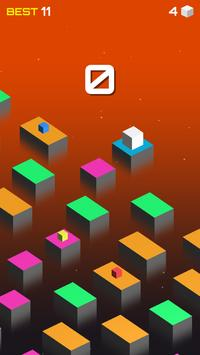 Jumping jump Cube apk screenshot