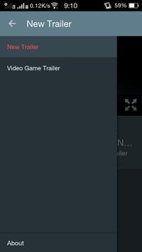 Video Game Trailer apk screenshot