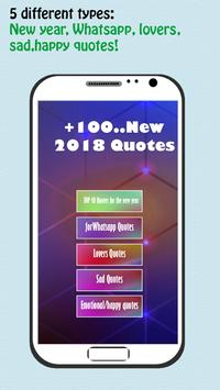 New year quotes 2018 +100 poster