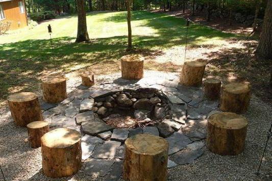 Inspiring DIY Fire Pits Ideas poster