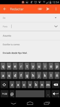 NYX Mail screenshot 3