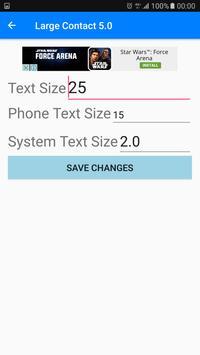 Large Contact 6.0 screenshot 2