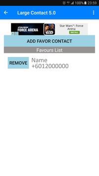 Large Contact 6.0 screenshot 3