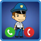 Kids Police Real Call icon