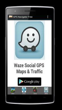 GPS Navigator Free screenshot 1