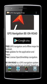 GPS Navigator Free screenshot 2