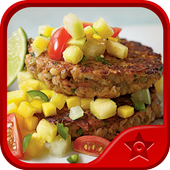Vegetarian Food Recipes icon