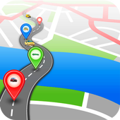 GPS Route Finder without Internet- Free icon