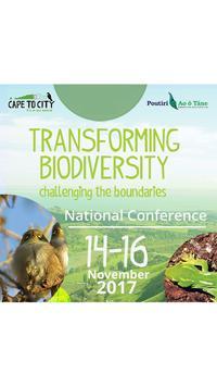 Transforming Biodiversity 2017 poster