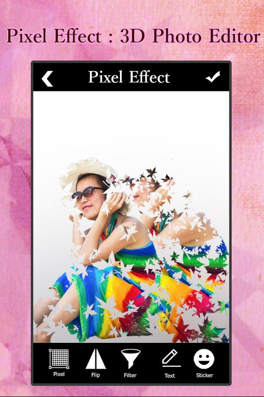Pixel effect 3d photo editor for android apk download for 3d editor online