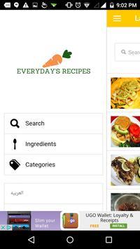 Everyday's Recipes screenshot 2