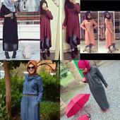 ملابس عصرية للمحجبات أيقونة