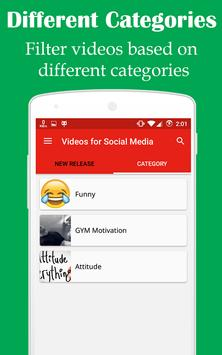 Videos for Social Media apk screenshot