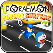 Subway Doramon Adventure Run icon