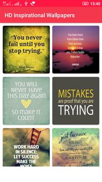 Inspirational Wallpapers poster