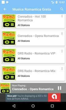 Musica Romantica Gratis apk screenshot