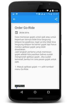 Cara Pesan Gojek screenshot 1
