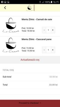 La Ceaune - Food Delivery screenshot 3