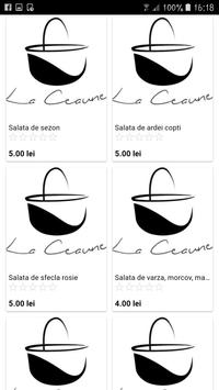 La Ceaune - Food Delivery screenshot 1