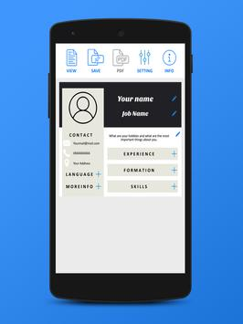 free cv creator for android apk download