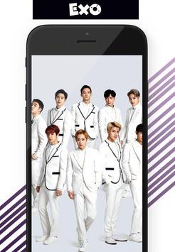 EXO KPOP Wallpaper HD screenshot 2