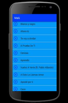 Malú Canciones Letras For Android Apk Download