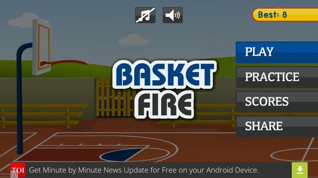 Basket Fire poster